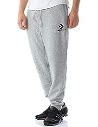 869ef0facd1d Converse Star Chevron Jogger VGH – Pantaloni, Uomo, Grigio (Vintage Grey  Heather)