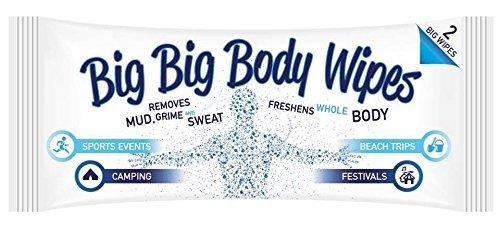 Big Big Body Wipes - Salviette per il corpo molto grandi