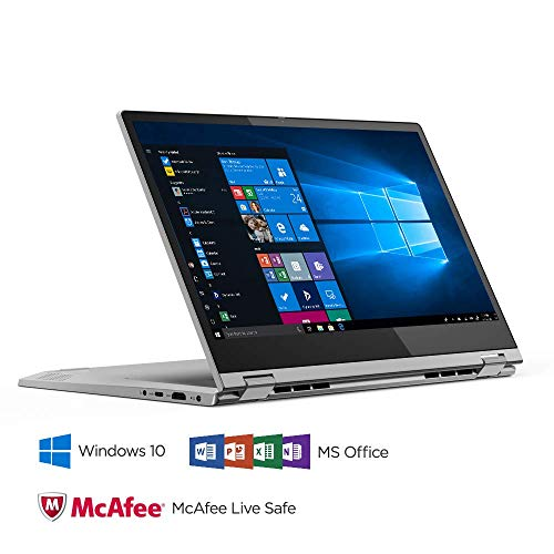 Lenovo Ideapad C340 8th Gen Intel Core i5 14 inch FHD 2 in 1 Convertible Laptop (8GB RAM/1TB SSD/Windows 10/MS Workplace/Platinum/1.65Kg), 81N400JMIN Image 5