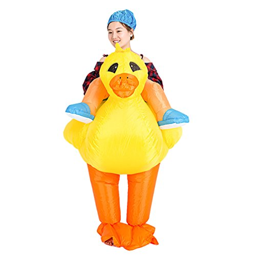 NiSeng Aufblasbarer Anzug Lustiges Karnevalskostüm Blow Up Kostüme Für Halloween Fancy Dress (Up Blow Kostüme Dress Fancy)