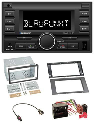 Palma 190 BT MP3 USB 2DIN Bluetooth AUX Autoradio für Ford Fusion Kuga Transit 05-12 anthrazit ()