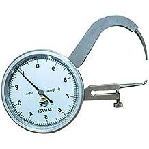 Luminiu Medidor Espesor Digital,Bolsillo Reloj comparador Espesor galga Micrómetro Exteriores de Alta Precision Calibre