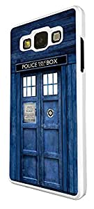 SAMSUNG Galaxy A3 Doctor Who Tardis Police Call Box Design Fashion Trend Cover Coque arriere Coque Case-Plastique et métal