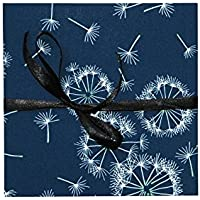 Leporello Fotoalbum mit Stoff 17x17cm schwarze Seiten