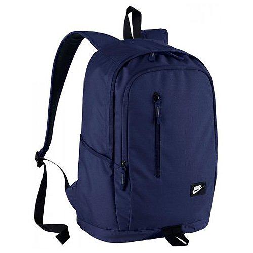 Nike All Access Soleday-Sol - Mochila para hombre, color azul/negro/blanco, talla única