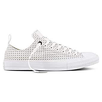 Image Unavailable Image not available for Colour Converse Mens Chuck II  Shield Lycra Oxford White Synthetic Trainers 7 UK