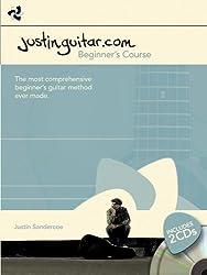 The Justinguitar.Com Beginner's Guitar Course (Book & 2 Cds)