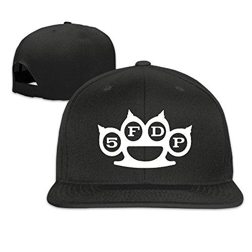 Facsea Runy Custom Five Finger Death Punch Adjustable Baseball Hat & Cap Black