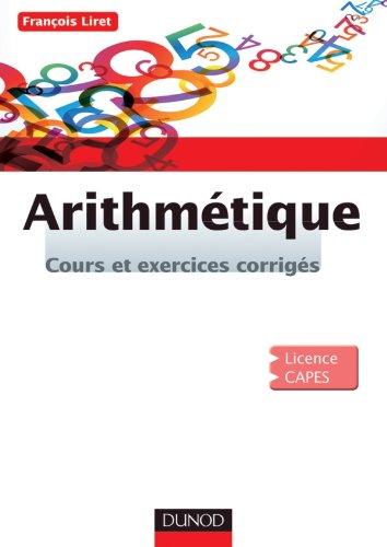Arithmétique: Cours et exercices corrigés