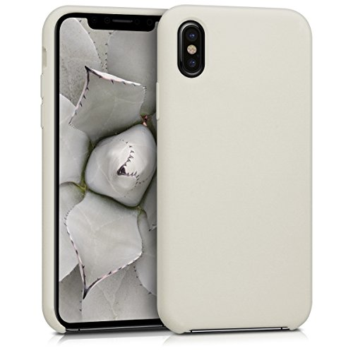 kwmobile Apple iPhone X Hülle - Handyhülle für Apple iPhone X - Handy Case in Beige