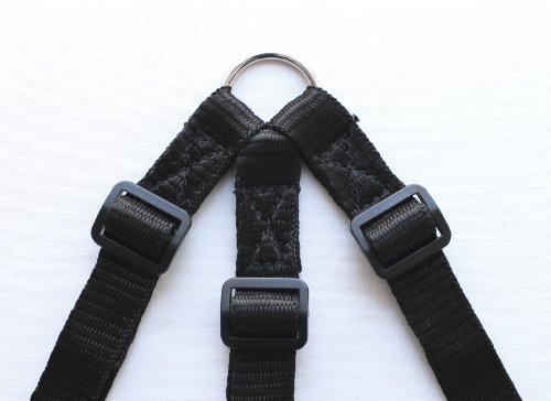 HIKS Products ADJUSTABLE TRIPLE/THREE / 3 Dog Coupler, BLACK Suitable for Walking 3 SMALL dogs on one Lead 3