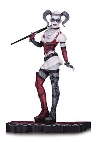 DC Comics JUN160388 Harley Quinn - Estatua de Asilo...