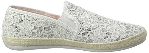 Desigual Damen Taormina White Lace 1 Sneaker Weiß (Blanco)