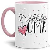 Tasse mit Spruch für die Weltbeste Oma -...