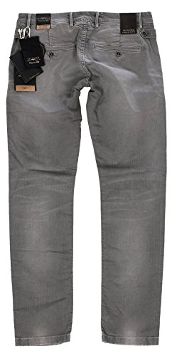 Selected - Jeans - Homme Gris - Gris