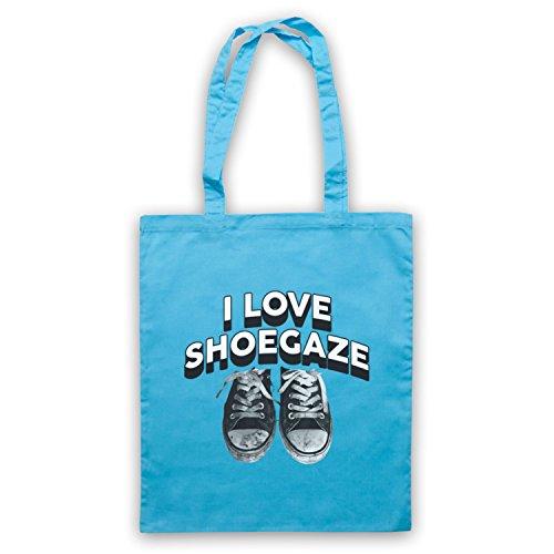 Amo Le Borse A Tracolla Alternative Rock Fan Indie Shoegaze Blu Chiaro