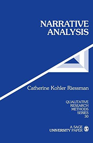 Narrative Analysis (Qualitative Research Methods) por Catherine Kohler Riessman