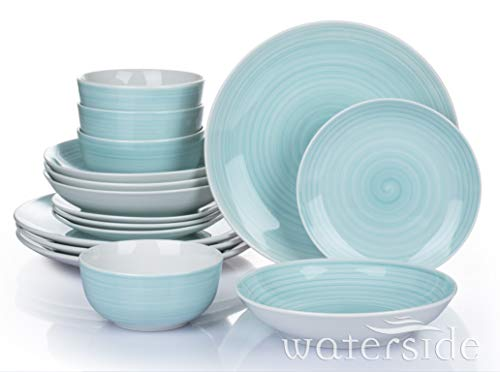 Waterside - 16 Piece Aqua Splash...