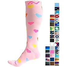 A-Swift - Par de calcetines de compresión unisex por debajo de la rodilla,