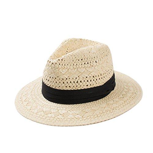 Le Printemps Et L'été Petit Chapeau Creux Chapeau De Paille Papyrus Rafi Chapeau De Jazz Chapeaux De Plage Vacances Beige