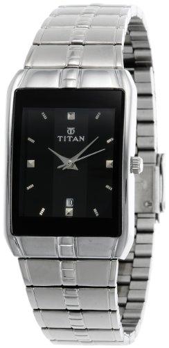 Titan Karishma Analog Black Dial Men's Watch - 9151SM02J