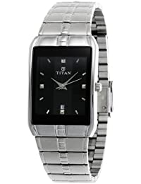 Titan Karishma Analog Black Dial Men's Watch -NH9151SM02A