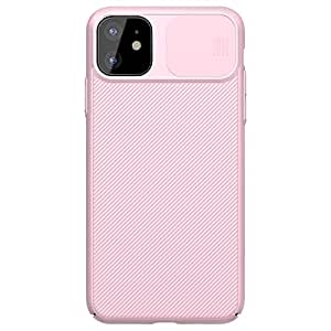 """Nillkin Case for Apple iPhone 11 (6.1"""" Inch) CamShield Camera Close & Open Case Protect Pink Color PC Finish"""