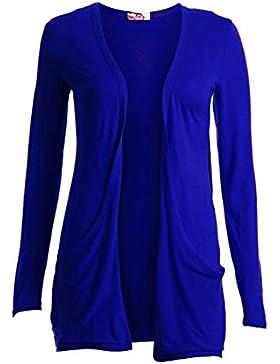 SendIt4Me Royal Cardi abierto azul/parte superior con bolsillos