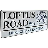 Queens Park Rangers FC Loftus Road Metall Stra/ße Unterzeichnen