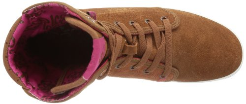 Le Coq Sportif - Voya Mid Plus, Sneaker alte Donna Marrone (Braun (Tortoise Shell))