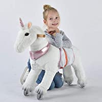 UFREE Horse Best Birthday Gift for Girls. Action Pony Toy, Ride on Large 29