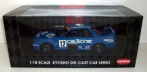 Kyosho - KYOS08361C - Véhicule Miniature - Nissan Skyline GTR BNR32 - Echelle 1/18 | Grand Assortiment