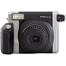 Fujifilm instax WIDE 300 - Cámara analógica instantánea, negro (importado)