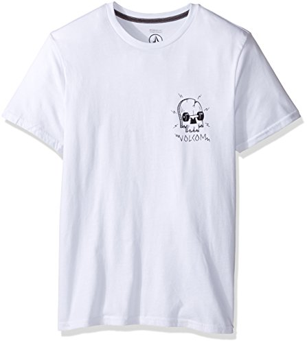 volcom-t-shirt-uomo-white-l-us-taglia