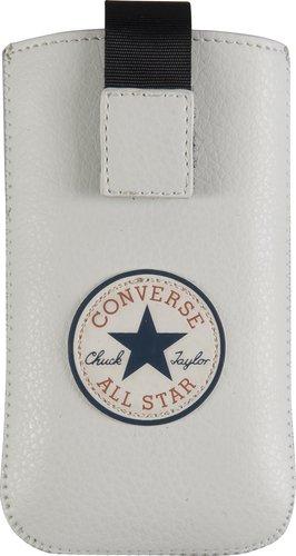Converse 99CON0151L Pouch Case - Basic - L - weiß - Handy Tasche - Schutzhülle -