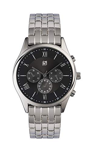 Spirit Mens Analogue Classic Quartz Watch with Stainless Steel Strap ASPG15 Best Price and Cheapest