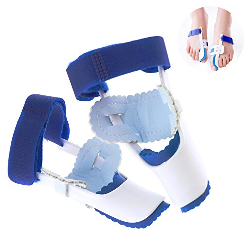 2pcs Fuß Bandage Zehenspreizer Zehenkorrektur Ballenschutz Schiene Hallux Valgus