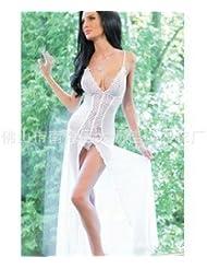 des sous - vêtements sexy costume blanc devant la fronde de type ouvert