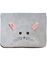 Zibuyu Women Cartoon Small Mouse Satchel Handbag Mini Shoulder Purse Bag(Grey)