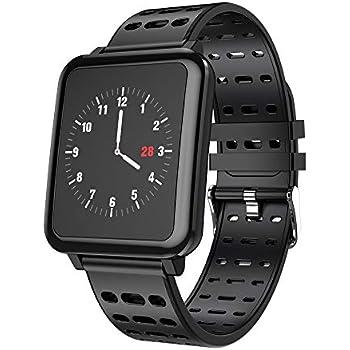 STRIR Smartwatch T2 con Monitor de frecuencia cardíaca, Reloj ...