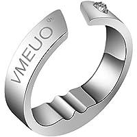Anti Ronquidos anillo, Asixx, Anillo Ronquidos, del Acero de Titanio, Para Estimular El Punto de Acupresión Para Reducir O Eliminar Los Ronquidos(S)