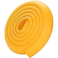 2m Cuigu Baby Sicherheitsecke Kantenschutz Beige L-f/örmige Weiche Kante Gummitisch Schutz f/ür Kinder