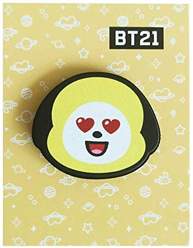 Christ For Givek K-Pop Bts Abzeichen Cartoon Kreativ Brosche Liebe Selbst Abzeichen PVC für Kinder und Mädchen Kleidung Tasche Dekoration 5cm - H04