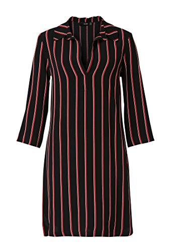 HALLHUBER Hemdblusenkleid mit Streifenmuster gerade und weit geschnitten Multicolor, 38
