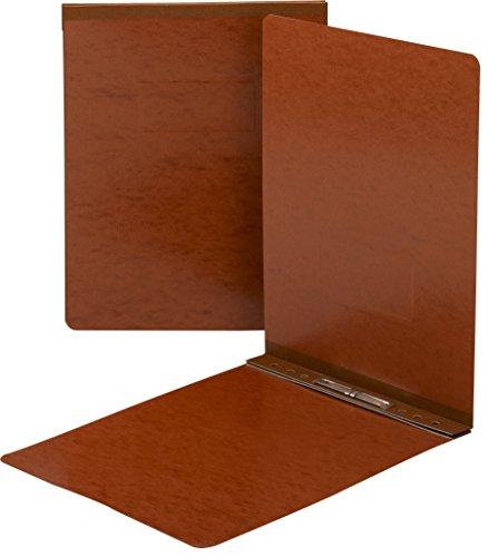 SMEAD Pressspan Report Cover, Metall Zinken mit Kompressor, Top Verschluss, 250Blatt/5,1cm Kapazität Größe, Buchstaben, Rot, 25pro Box (81725) (Top-cover-unterstützung)