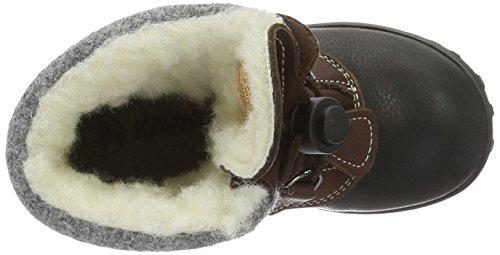 Kavat Sälen Ep, Bottes mi-hauteur avec doublure chaude mixte enfant Marron - Braun (Brown 919)