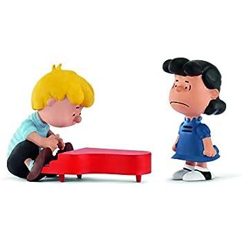 Peanuts Classic Football Scenery Pack of 3 Miniature Figures 22014