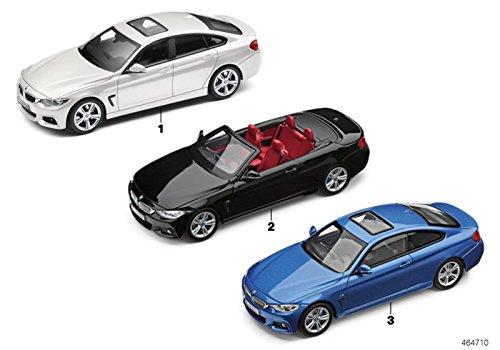 BMW Original Miniatura coche 1: 43Escala Fundido 4serie F36Estroil azul II