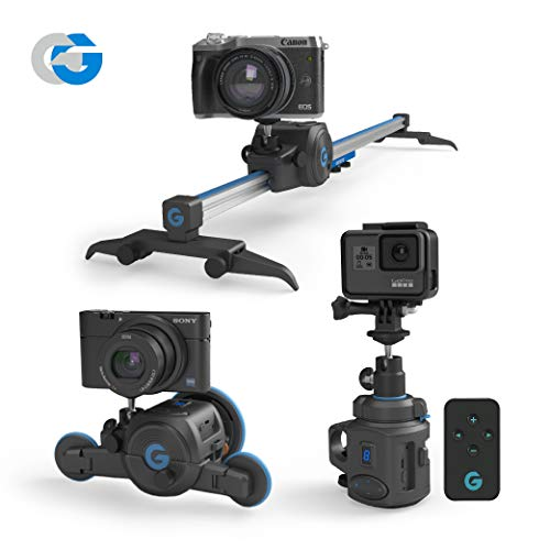 The Directors Set -All in one, Electronic Slider & 360° Panoramic Mount & Micro Dolly