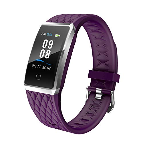 willful Pulsera Actividad, Impermeable IP68 Pulsera Inteligente con Pulsómetro, Reloj Inteligente para Deporte, Podómetro, Pulsera Deporte para Android y iOS Teléfono móvil para Hombres Mujeres Niños